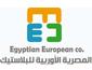 لوجو المصرية الاوربية لصناعة البلاستيك